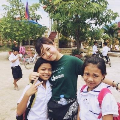 カンボジアでチャイルドケア&地域奉仕活動 東明音